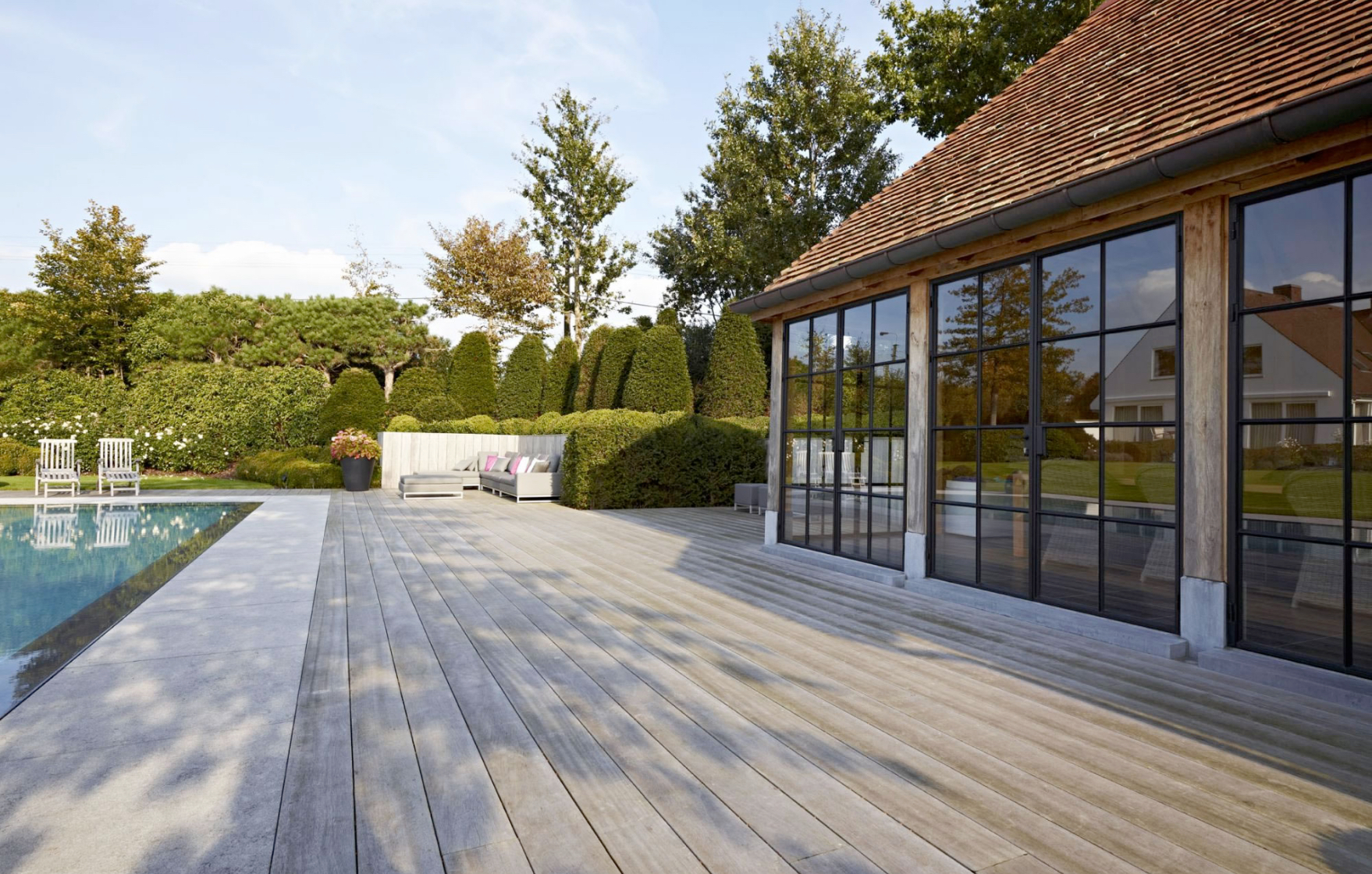 Kwalitatieve houten terrassen